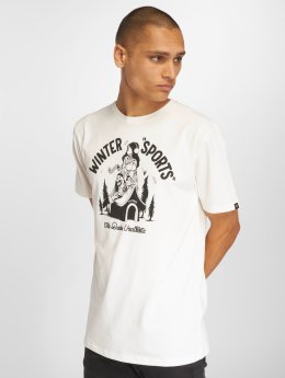 The Dudes T-Shirt Winter Sports blanc