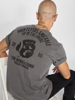 The Dudes t-shirt High Flyers grijs