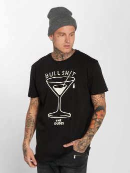 The Dudes T-Shirt Bullshit noir