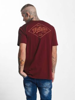 The Dudes t-shirt Unathletics Stamp rood