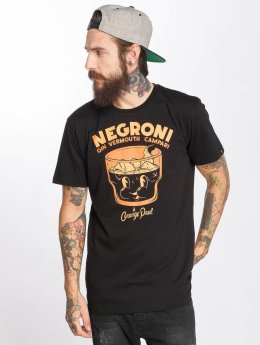 The Dudes T-Shirt Negroni schwarz