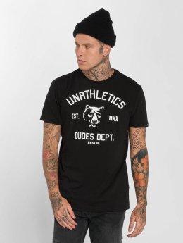 The Dudes T-Shirt Unathletics Smoke schwarz