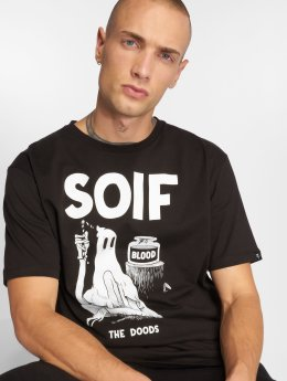 The Dudes T-Shirt Soif schwarz