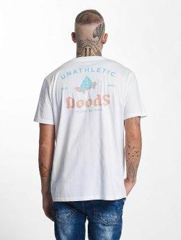 The Dudes T-Shirt Skateshit weiß