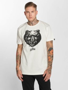 The Dudes T-Shirt Black Bear weiß