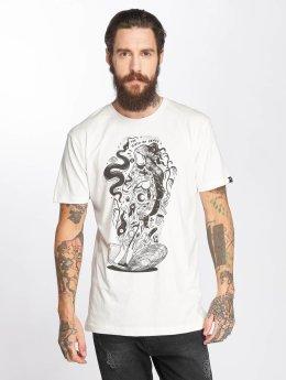 The Dudes T-Shirt Penus weiß