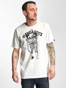 The Dudes t-shirt Viandardes wit