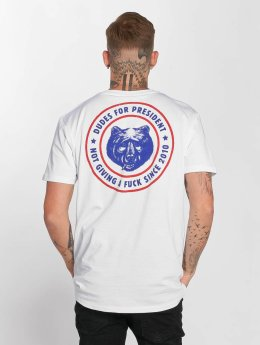 The Dudes t-shirt President wit