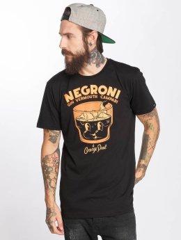 The Dudes t-shirt Negroni zwart