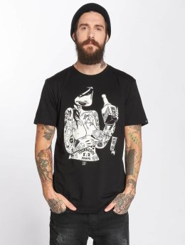 The Dudes t-shirt Sat zwart