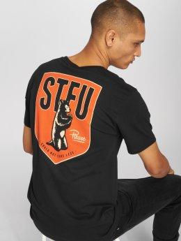 The Dudes t-shirt STFU zwart