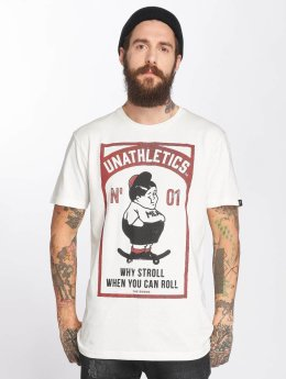 The Dudes T-skjorter Fat Boy hvit