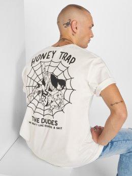 The Dudes T-skjorter Web hvit