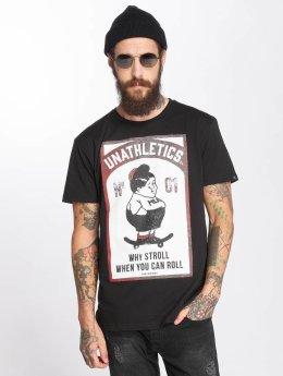 The Dudes T-skjorter Fat Boy svart