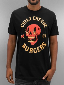 The Dudes Tričká Chili And Cheese èierna
