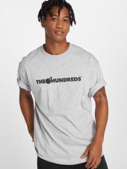The Hundreds Camiseta Forever Bar Logo gris