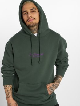The Hundreds Hoodie Rich Logo grön