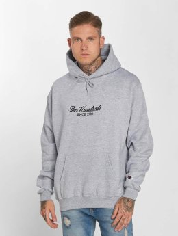 The Hundreds Hoody Rick Embroidery grau