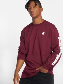 The Hundreds Longsleeves Forever Solid Cest czerwony