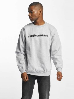 The Hundreds Pullover Forever Bar Logo grau