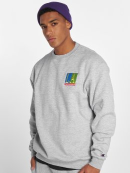 The Hundreds Pullover Hot Night grau