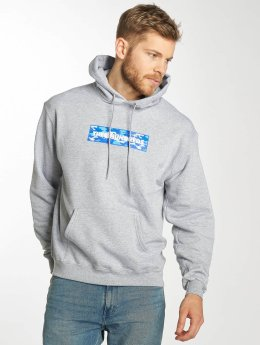The Hundreds Sweat capuche Camo Bar gris
