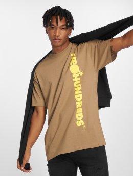 The Hundreds T-Shirt Bar None braun