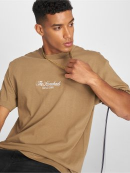 The Hundreds T-Shirt Rich Logo brun