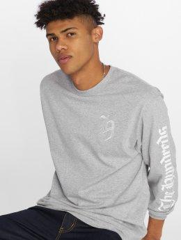 The Hundreds T-Shirt manches longues H Crest gris