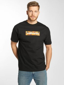 The Hundreds t-shirt Camo Bar zwart