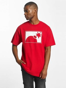 The Hundreds T-Shirty Forever Halfbomb czerwony