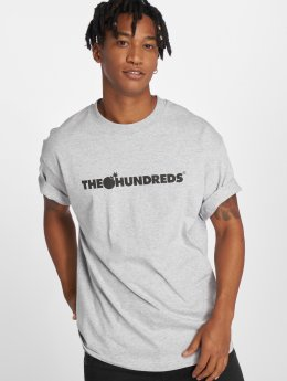 The Hundreds T-Shirty Forever Bar Logo szary