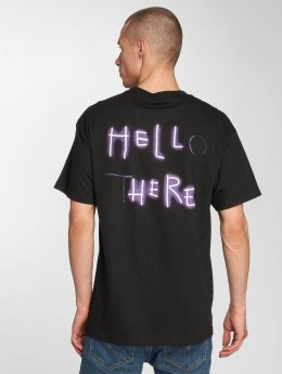 The Hundreds T-skjorter Hello There svart