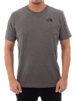 The North Face T-Shirt Face M Ss grau