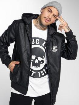 Thug Life Кожаная куртка Divers  черный