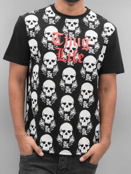 Thug Life Icelist T-Shirt Black