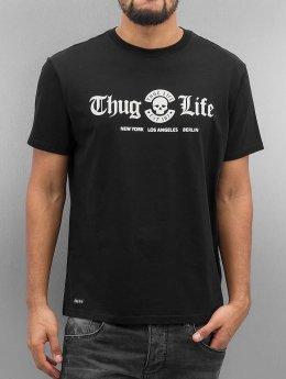 Thug Life Rule T-Shirt Black