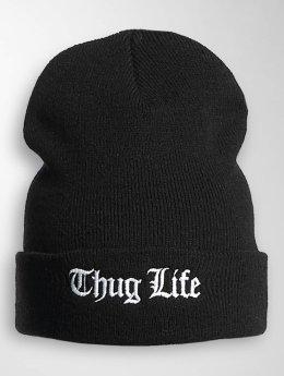 Thug Life Basic Beanie Basic Old Englisch svart