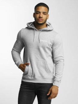 Thug Life Basic Hoodie Basic Chest  grey