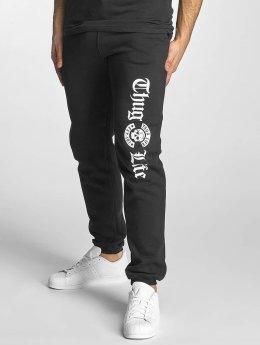 Thug Life Basic Pantalón deportivo Old English negro