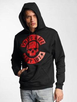 Thug Life Basic Sudadera Camo  negro
