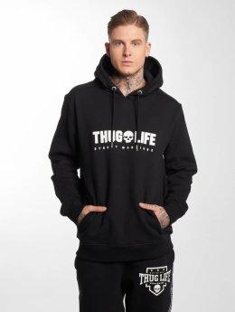 Thug Life Bluzy z kapturem Future czarny