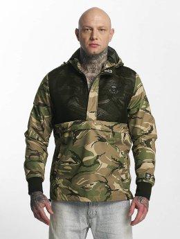 Thug Life Skin Jacket Green Camouflage