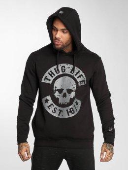 Thug Life Felpa con cappuccio B.Distress nero