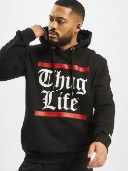 Thug Life Hoodie B.Gothic svart