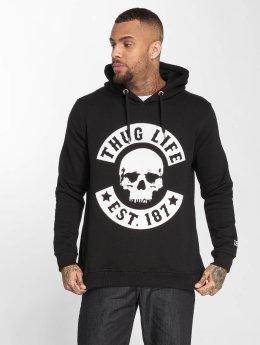 Thug Life Hoodies B.Skull čern