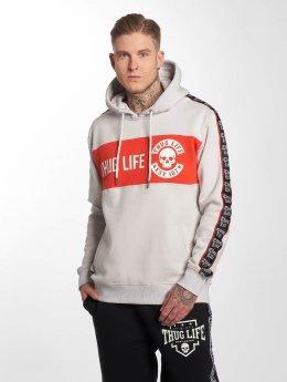 Thug Life Hoody Lux grau