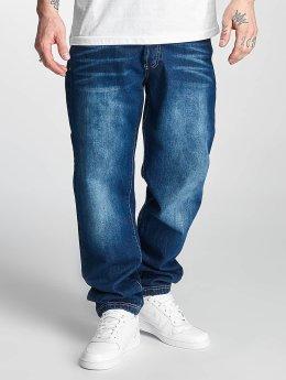 Thug Life Jean large coupe droite Primorsk bleu