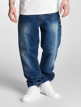 Thug Life Jean large coupe droite Anadyr bleu