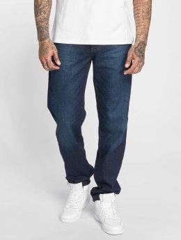 Thug Life Jean large coupe droite B . Denim bleu